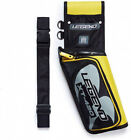 (Left Handed, Yellow) - Legend - XT420 Field Quiver with Adjustable Nylon Belt