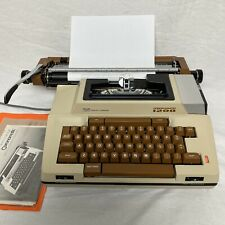 Vintage Smith Corona Electric Typewriter SCM Coronamatic 1200 With Case. Tested