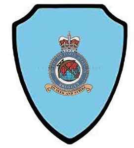 RAF BRUGGEN WALL SHIELD