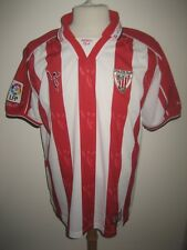 Athletic Bilbao NUMBER 4 Spain football shirt soccer jersey camiseta size XL