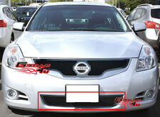 Fits 10-11 2011 Nissan Altima Sedan Lower Bumper Black Mesh Grille