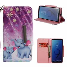 NEW Magnetic Wallet Flip Cartoon PU leather slots stand cover skin case