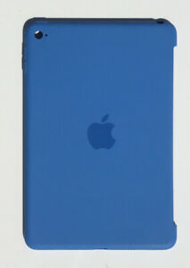 Genuine Apple Silicone Protective Rear Case Apple iPad Mini 4  Royal Blue