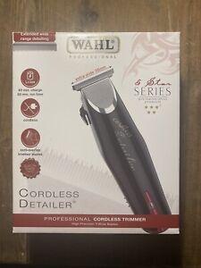 wahl cordless detailer trimmer