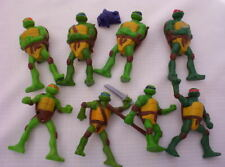 2007 MCDONALDS TEENAGE MUTANT NINJA TURTLES SET LOT 8 FIGURES TMNT TURTLE