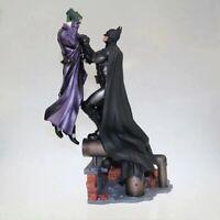 Batman Vs Joker Statue figurine action figure toy model PVC Doll 30cm Bat Clown