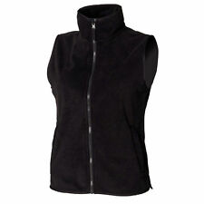 Polyester Patternless Gilet Coats & Jackets for Women