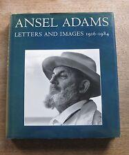 ANSEL ADAMS letters & images 1916-1984 - 1st/1st HCDJ 1988  - photography ART