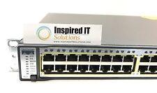 WS-C3750G-48PS-S - Cisco Catalyst 3750G 48 10/100/1000T PoE + 4 SFP + IPB Image