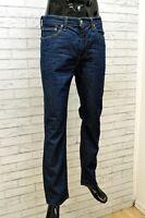 Jeans da Uomo Levi's 511 Taglia 50 Pants Man Pantaloni Cotone Gamba Dritta Denim