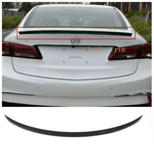 Carbon fiber Surface Rear Trunk Spoiler Wing For 2015-2020 Acura TLX Sedan ABS