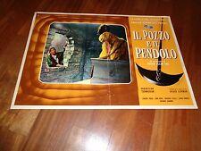 FOTOBUSTA,Il pozzo e il pendolo,Pit and the Pendulum,Corman,Vincent Price Steele