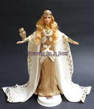 Shakira Barbie Doll as Legendary Golden Goddess of Wisdom OOAK Celebrity Redress