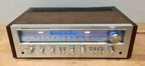 Pioneer SX-650 Receiver - Tested/Serviced, Working. Walnut Veneer + all LED's.