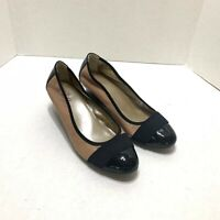 Me Too wedges dress women's shoes brown black dress shoes Size 8.5 M