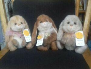 Charlie bears Minimo Rabbits Set Of 3 L/e no 85/600