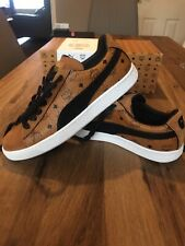 PUMA SUEDE COLLABORATION 'MCM' TAN LEATHER TRAINER (BRAND NEW BOXED)