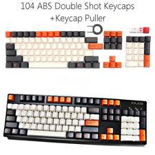 ABS Double Shot Keycaps Set for mechanical keyboard 104Key-PBT Backlit Cherry MX