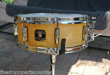 """GRETSCH CATALINA CLUB 14"""" SNARE in GLOSS NATURAL for DRUM SET LOT #G898"""