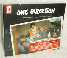 One Direction Take Me Home Special Deluxe Edition Taiwan CD+DVD w/BOX (22-trks)