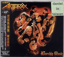 Anthrax: Worship Music (2011) CD SLIPCOVER OBI TAIWAN
