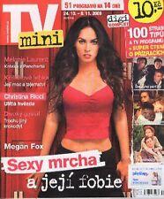 MEGAN FOX sexy CHRISTINA RICCI MELANIE LAURENT Magazine