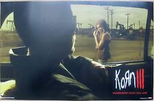 Korn - KORN III - REMEMBER WHO YOU ARE Promo Poster [2010] - VG++