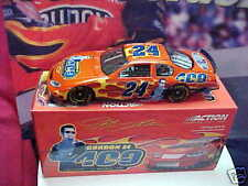 2004 JEFF GORDON 400TH. START 1/24 CLEAR WINDOW #24 ACTION CAR