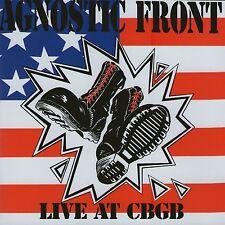 AGNOSTIC FRONT - LIVE AT CBGB CD (LIVE 1988) NEW YORK HARDCORE