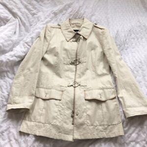 Gil Bret Ladies Linen Coat UK 14