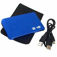 "2.5"" SLIM BOX ESTERNO DI HARD DISK HD HDD SATA USB 2.0 HK"