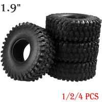 "120MM OD Tire Tyre w/ Foam for RC 1/10 1.9"" Wheel Rims Axial SCX10 D90 Crawler"