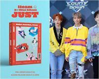 1TEAM: JUST* 2nd Mini Album CD+Full Package Poster (Live works) K-POP