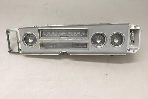 1964 Dodge Polara 500 Dash Cluster Gauges 330 440 Instrument w/ Bezel Assembly