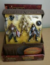 Pirates of Caribbean At World's End Pirate Captains Battle Pack Figures Set NEW