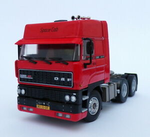 WSI Models 1/50 Scale 04-2084 - DAF 3300 Space Cab 6x4 Truck - Red