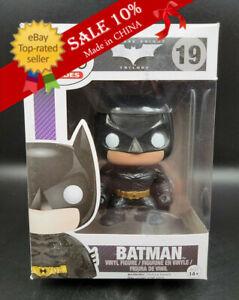 Funko Pop Batman #19 The Dark Knight Rises Vinyl Figure Damaged Box Rare Vaulted