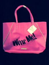 """100% Authentic JUICY COUTURE """"Wear Me"""" Hot Pink Tote Bag (NWT)"""