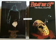 "Friday the 13th - Jason Part 3 & Jason Part 4 - 7"" action figure 2-pack (NECA)"