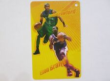 NBA New York Knicks JAMAL CRAWFORD & L.A. Clippers ELTON BRAND Basketball Card