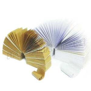 10 Packs of NEW Combo Rolling Paper Tips Filters (50 Sheets per pk)