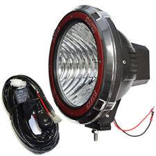 9 inches 4x4 Off Road 6000K 55W Xenon HID Fog Lamp Light Flood (1pcs) w/Relay