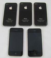 5 Apple iPhone 4 8GB Verizon Smartphone Lot GOOD