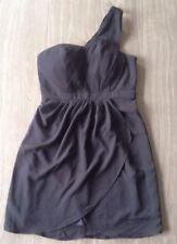 Portmans Signature Black One Shoulder Party/Formal/Cocktail Dress Size 12 BNWT