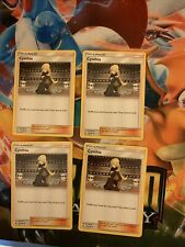 Cynthia Trainer Card Lot Of 4