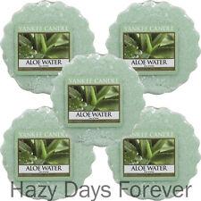 5 Yankee Candle Wax Tartas derrite Aloe agua comprar 2+ £ ahorre 20% Perfumado