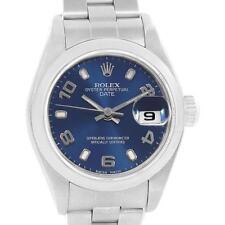 Rolex Date 26 Blue Dial Oyster Bracelet Steel Ladies Watch 79160