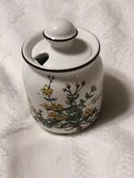 "Villeroy & Boch BOTANICA Creamer & Jam Jelly Jar With The Lid 4.5"" Tall"