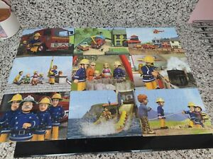 Fireman Sam Jigsaws, 9 puzzles in one box Fantastic collection of puzzles