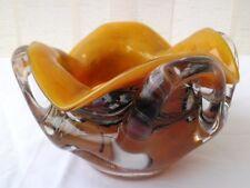 Cendrier verrerie de la bourboule F-Simon soufflé bouche